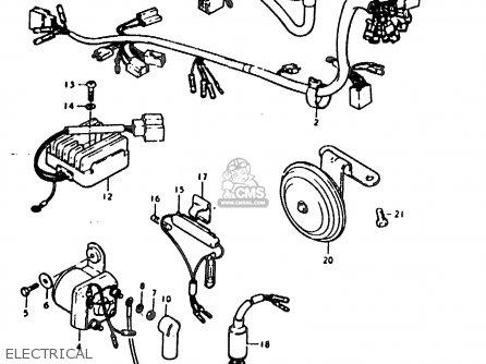 Suzuki Sb200 1979 n e02 Electrical