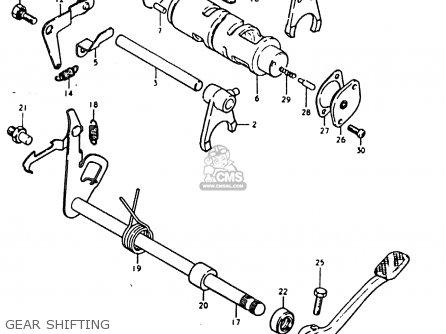 Suzuki Sb200 1979 n e02 Gear Shifting