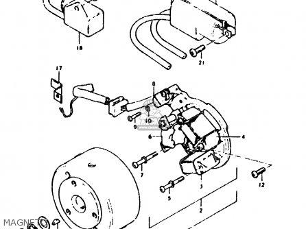 Suzuki Sb200 1979 n e02 Magneto