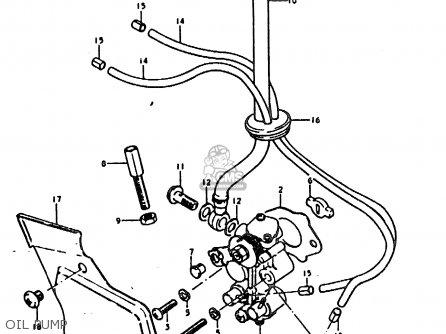 Suzuki Sb200 1979 n e02 Oil Pump