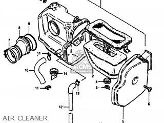 Suzuki Sp100 1983 d Usa e03 Air Cleaner