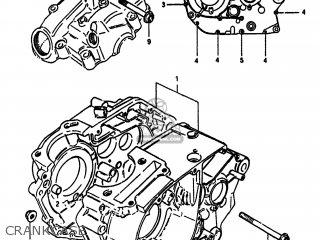Suzuki Sp100 1983 d Usa e03 Crankcase