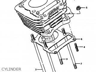 Suzuki Sp100 1983 d Usa e03 Cylinder