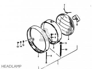 Suzuki Sp100 1983 d Usa e03 Headlamp