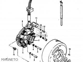 Suzuki Sp100 1983 d Usa e03 Magneto