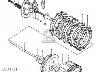 Suzuki Sp125 1982 z Usa e03 Clutch