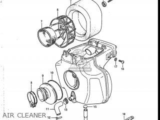AIR CLEANER - SP125 1988 (J) USA (E03)