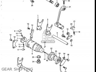 Suzuki Sp200 1986 g Usa e03 Gear Shifting