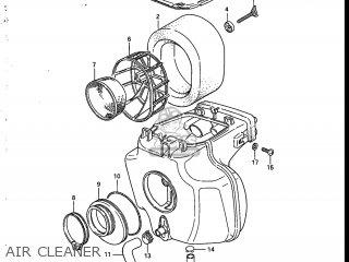 AIR CLEANER - SP200 1987 (H) USA (E03)