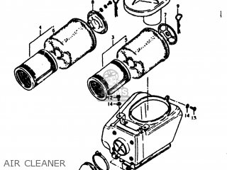 AIR CLEANER - SP370 1978 (C) USA (E03)