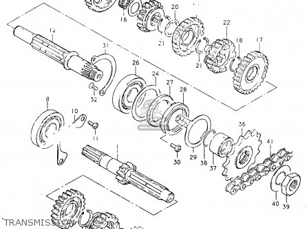 Suzuki Ts 125 Wiring Harness Diagram