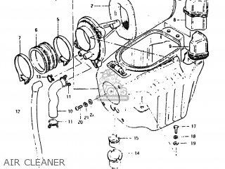 AIR CLEANER - SP500 1982 (Z) USA (E03)