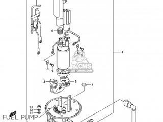 Suzuki Sv1000s 2006 k6 Usa e03 Fuel Pump