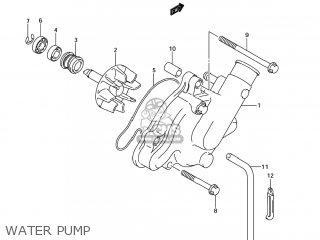 Suzuki Sv1000s 2006 k6 Usa e03 Water Pump