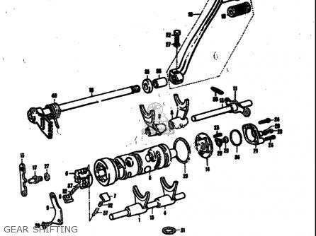 Suzuki T305 Tc305 1969 Usa e03 Gear Shifting