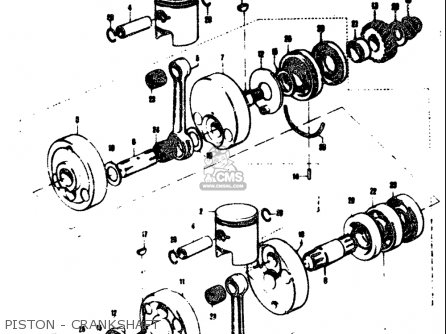 Diagram Of 1969 20r69b Johnson Outboard Powerhead Group Diagram And