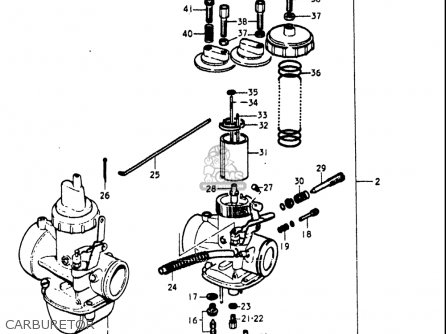 Isuzu Trooper Carburetor Diagram