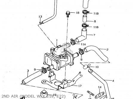 Suzuki Tl1000s 1997 v e02 E04 E18 E22 E24 E25 E34 E39   P37 2nd Air model W x E18  E22
