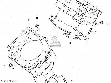Suzuki Tl1000s 1997 v e02 E04 E18 E22 E24 E25 E34 E39   P37 Cylinder