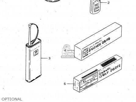 Suzuki Tl1000s 1997 v e02 E04 E18 E22 E24 E25 E34 E39   P37 Optional