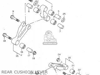 Suzuki Tl1000s 1997 v e02 E04 E18 E22 E24 E25 E34 E39   P37 Rear Cushion Lever