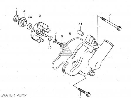 Suzuki Tl1000s 1997 v Water Pump