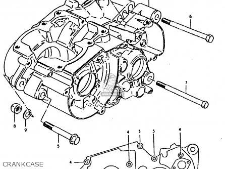 Suzuki Ts100er 1980 T E01 E02 E09 E24 E30 Parts Lists And Schematics