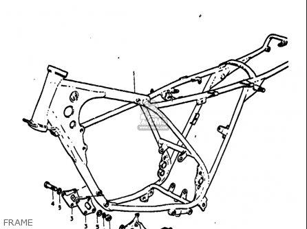 Suzuki Ts125 1971-1972 usa Frame