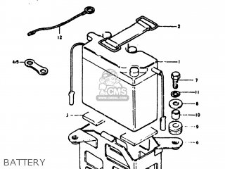 suzuki ts125 1973  k  usa  e03  parts list partsmanual