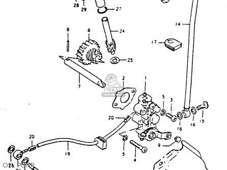suzuki ts125 1979  n  parts list partsmanual partsfiche