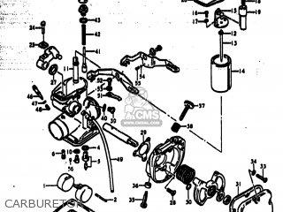 Suzuki Ts185 1977 b Usa e03 Carburetor