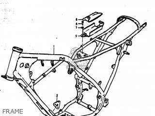 Suzuki Ts185 1977 b Usa e03 Frame
