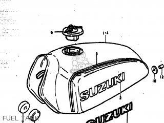 Suzuki Ts185 1977 b Usa e03 Fuel Tank