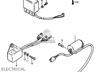 suzuki ts185 1980 (t) usa (e03) electrical