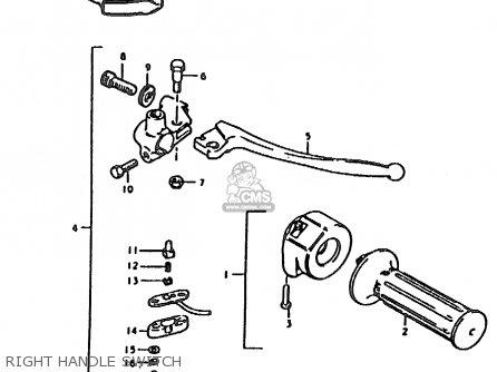 suzuki ts185er 1979  n   e01 e02 e04 e21 e24  parts lists