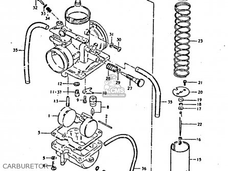 Suzuki Ts250er 1981 X E1 E2 E4 E09 E16 E17 E18 E21 E22 E24 E30
