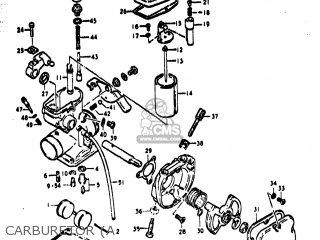 suzuki ts400 1977 (b) usa (e03) carburetor (a  carburetor (a � suzuki ts400