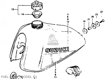 suzuki ts50erk 1983 d   e02 e16 e22  parts list