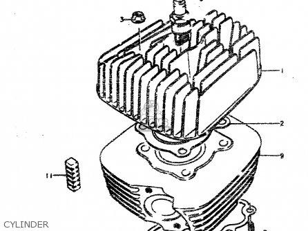 Suzuki Ts50erp 1979 N Parts Lists And Schematics