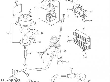 suzuki vl 1500 electrical diagram