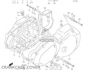 Suzuki Vl1500 Intruder 1998 w Usa e03 Crankcase Cover
