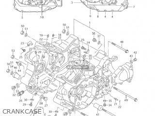 Suzuki Vl1500 Intruder 1998 w Usa e03 Crankcase