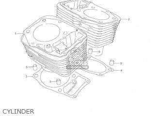 Suzuki Vl1500 Intruder 1998 w Usa e03 Cylinder