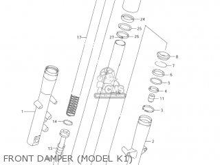 Suzuki Vl1500 Intruder 1998 w Usa e03 Front Damper model K1