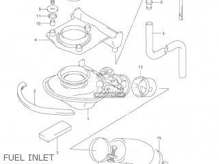 Suzuki Vl1500 Intruder 1998 w Usa e03 Fuel Inlet