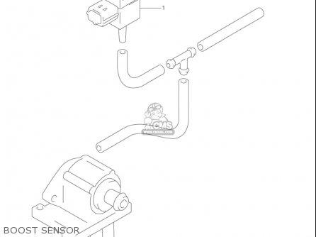 Suzuki Vl1500  b Intruder 1998-2004 usa Boost Sensor