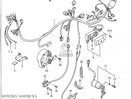 suzuki vs1400 glp 1987 1995 usa wiring harness_mediumsuusa83162_0462 1987 suzuki intruder wiring diagram images reverse search suzuki intruder 1400 wiring diagram at gsmportal.co