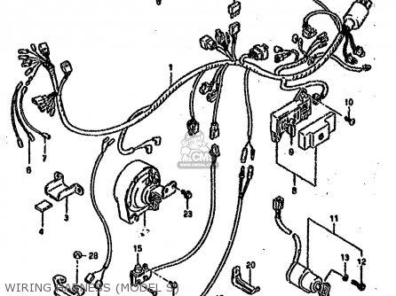 Suzuki Wire Harnes
