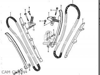 Suzuki Vs700glef Intruder 1986 g Usa e03 Cam Chain