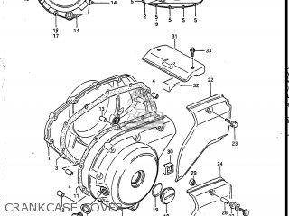 Suzuki Vs700glef Intruder 1986 g Usa e03 Crankcase Cover
